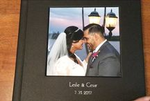 Wedding Photo Albums / Wedding photo albums. Hardcover or leather albums we offer for the brides.