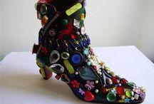 Sija van Riel Monarchs Shoes  Boots / Bewerkte shoes boots