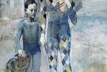 ARLECCHINO di Pablo Picasso
