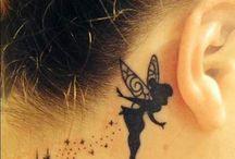 Tinker bell tattoo small