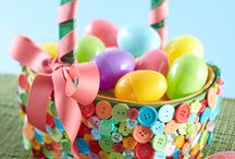 Easter / Easter craft ideas using hotmelt!