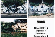 VSCO ideas