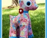 Soft toy sewing