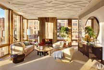 Dufner Heighes designed Manhattan Penhouse / by Deette Kearns