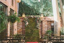 Mackenzie + Louis | Inspiration / Pretty urban garden in the heart of the city