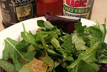 Healthy Salads and Dressings