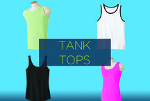 Promotional Tank Tops / You can help your customers get ready for a casual, relaxed day, or alternately, get ready for a workout simply with these stylish, custom promotional tank tops. It's an affordable way for customers to make a fashion statement, while you can make a branding statement that resonates.
