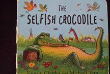 Monsters and Crocodiles Books / Libri in inglese per bambini su mostri e coccodrilli