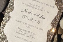 Invitation cards / For any occasion