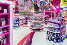 магазин сладостей интерьер