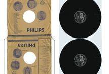 Printies Schreibmaschinen und Schallplatten