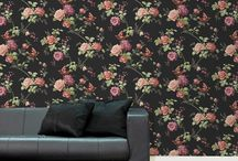 Floral Wallpaper / Tapetul floral este terapie pentru suflet!