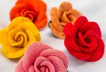 kwiaty szydelkowr