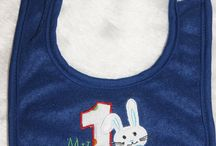 Personalised Bibs / Personalised bibs, funny and quirky sayings, Easter and Christmas, Many different to choose from.