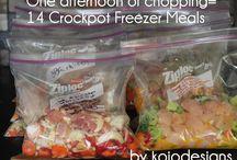 Freezer meals / by Kody Stewart