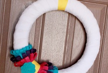 Wreaths / A collection of fun and festive DIY wreaths that can be created year round.