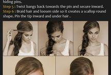All about Hair / hairstyle tutorial and information
