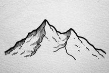 горы графика