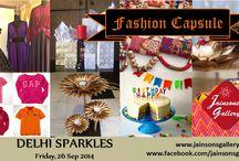 Fashion Capsule - Delhi Sparkles @ Jainsons Gallery / Fashion Capsule - Delhi Sparkles edition held at Jainsons Gallery on September 24, 2014