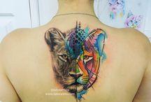 leona tatoo