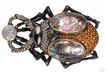 Antique Jewelry - Insects, Amphibians and Reptiles