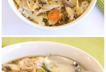 Soup / Chicken noodle soup