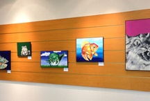 In the Gallery / Check out the art we've had displayed in The Gallery.