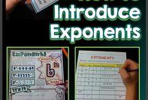 Matematika - exponenty, pořadí operací
