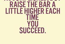 Raising the bar/stakes
