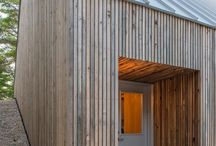Shed - Wooden Cladding