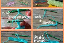 Crochet sewing / Crochet, sewing.