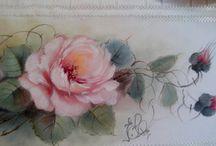 pinturas y flores