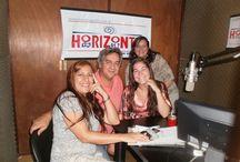 INFO ROSARIO MOVIL / Instantaneas en estudios de FM HORIZONTE 91.7 MhZ