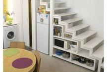 stair storage - mansarde