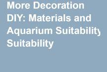 Aquarium:- DIY Decoration