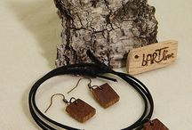 Wooden jewelry- reclaimed wood / wooden accessories