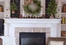 mantle ideas/decor