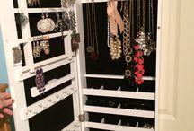 Wardrobe, Jewelry, bag organiser