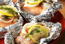 Lemon Dills Salmon Packet