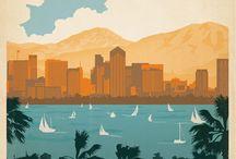 Vintage Travel Posters / by Menifee Valley Travel