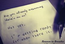Reason to Breathe ❤