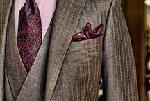 Men's Style - Suit Up! / Whether it's for work or for play, a gentleman sports a tie and a jacket. Suit up, gents!