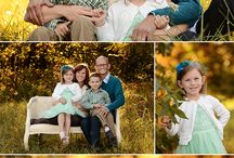 family of 4 poses