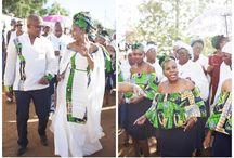 ellegant tswana wedding