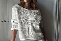 wzory na swetry