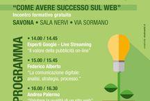 """Power up Connect """"Come avere successo sul web"""" / Studiowiki e Google presentano: Power up connect, """"Come avere successo sul web"""", presso la sede della Provincia di Savona, Sala Nervi, Martedì 25 Febbraio ore 14."""