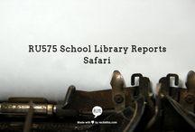 RU 575 School Library Reports Safari / Please pin your favorite school library reports and offer comments