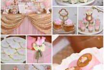 Fiestas, mesas dulces, cumpleaños