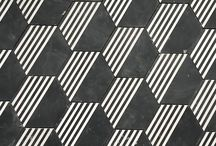 Geometric / Contemporary interiors combining shape and pattern