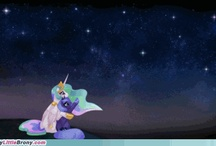 mlp luna and celestia